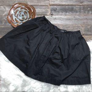 Kate Spade SATURDAY Black Circle Skirt 4 Pocket.